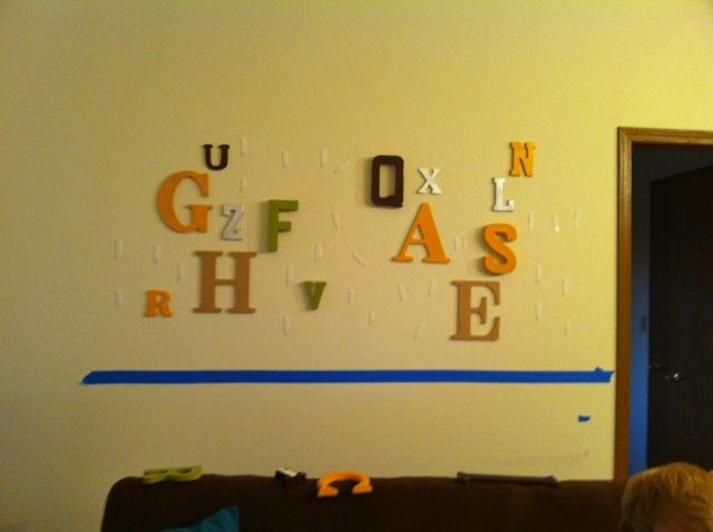 typography room process