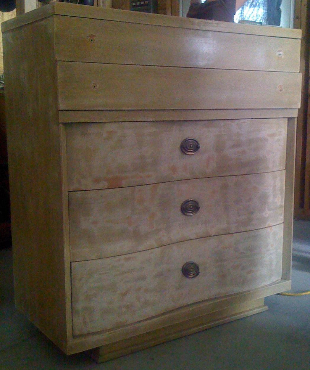 diy dresser sanding
